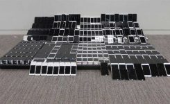 Huge quantity of smuggled cellphones seized