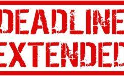 Date for filing returns extended