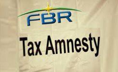 Amnesty scheme: FBR concerned over poor response from Punjab