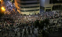 Protesters defiant as Jordanians strike over tax bill