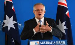 Australia's government cuts taxes ahead of election